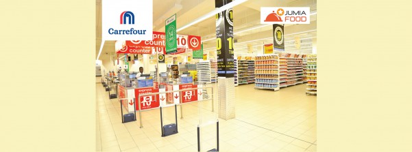 Carrefour Join Forces with Jumia Food to Deliver Groceries in Kampala