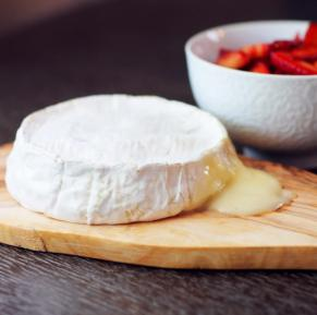 Did you know that you are supposed to eat the skin of Camembert Cheese?