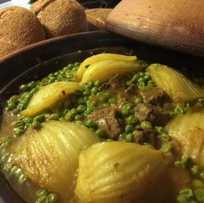 Moroccan Tagine of Chicken with Fennel